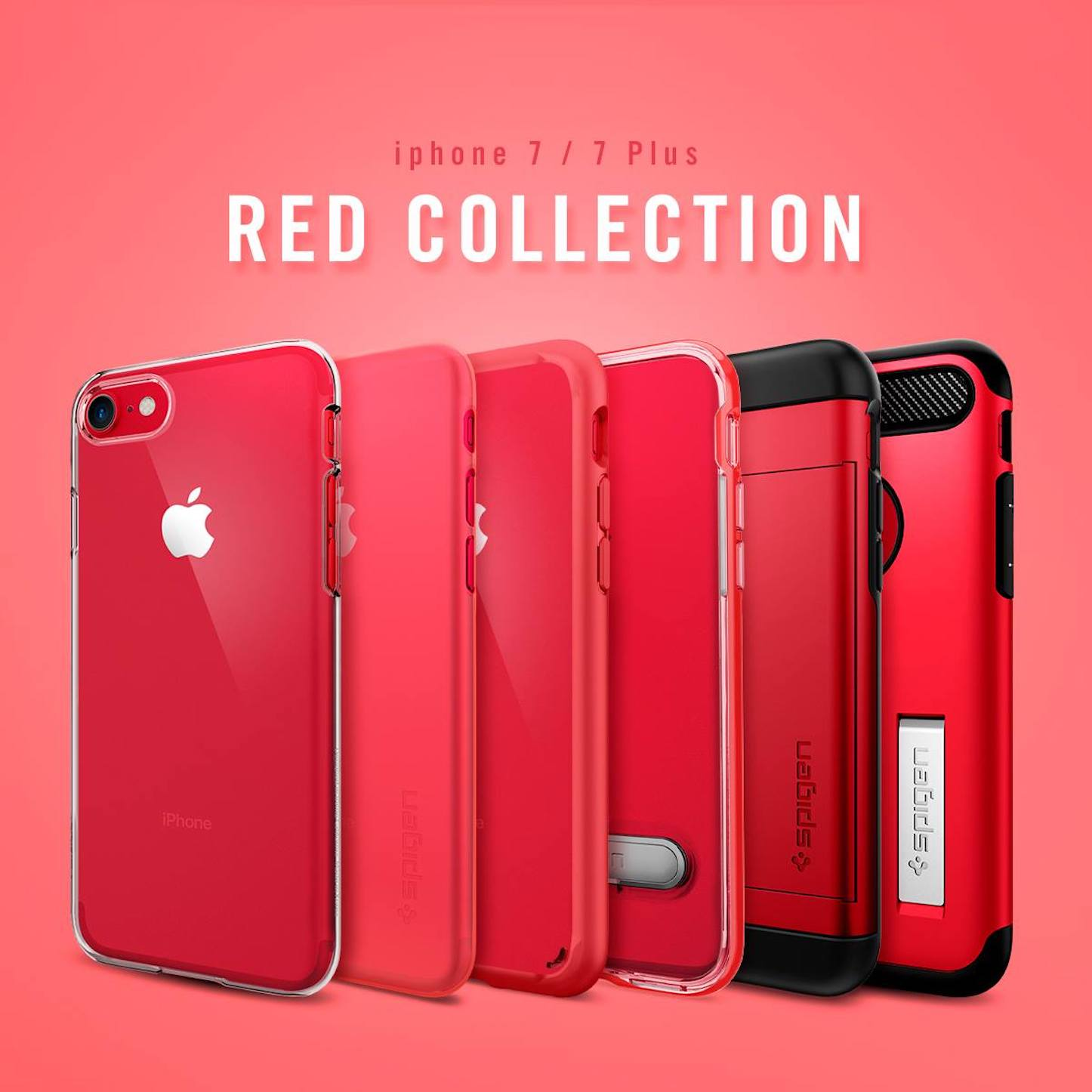 Spigen Red Collection