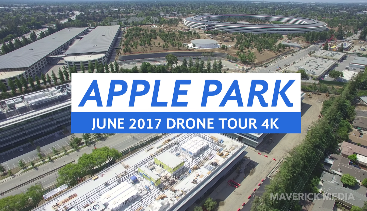 Apple Park Drone Tour June2017