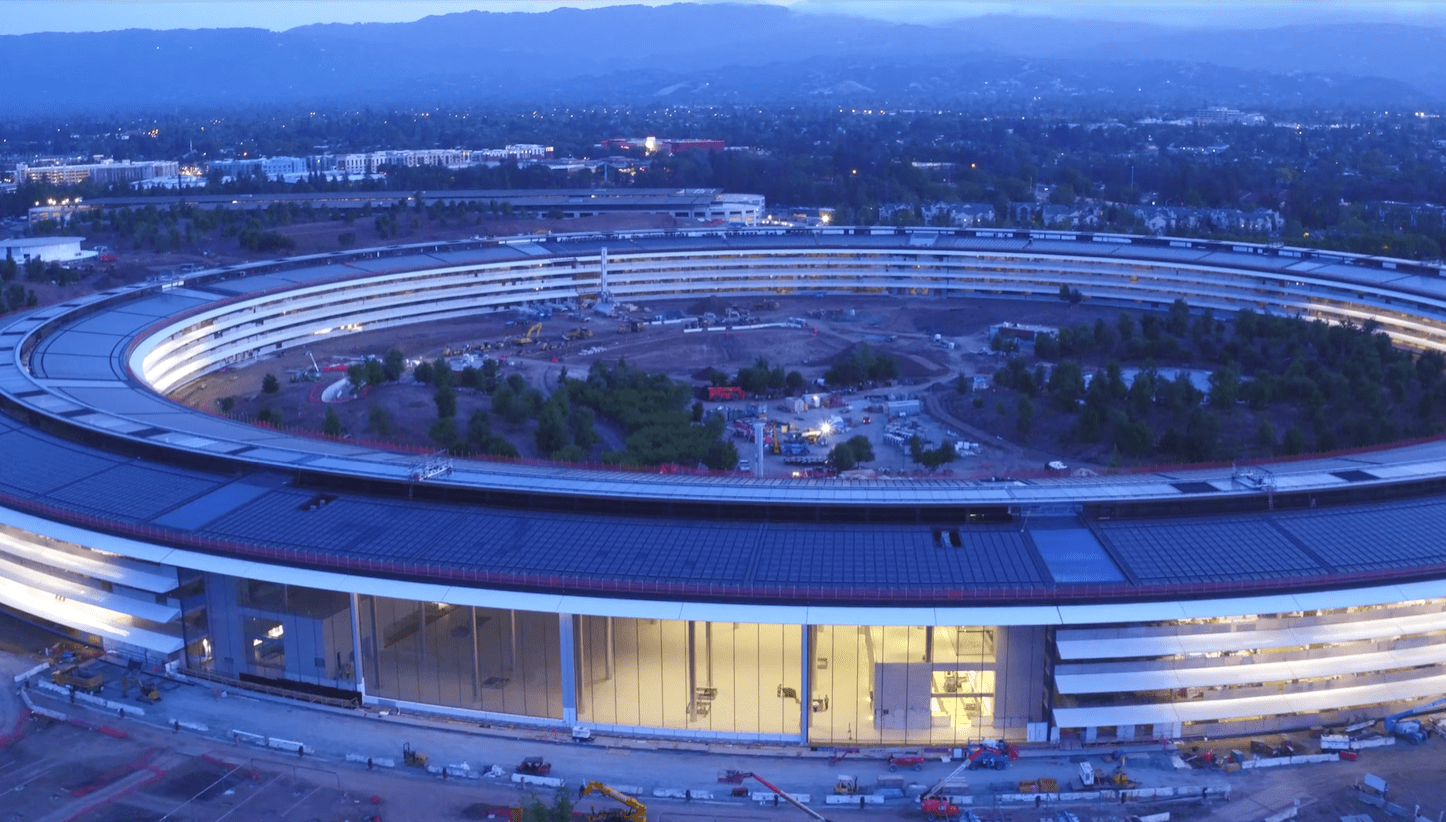 Apple Park at Sunset