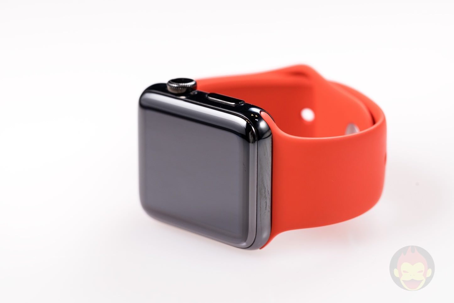 Apple Watch Product Red Sports Band