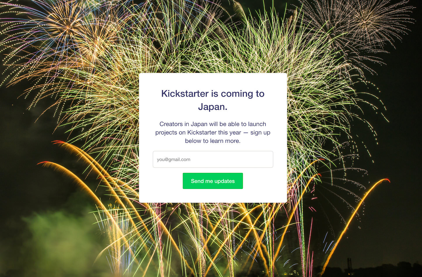 Kickstarter-Coming-to-Japan