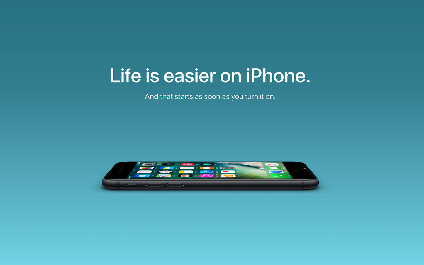 Life is Easier on iPhone