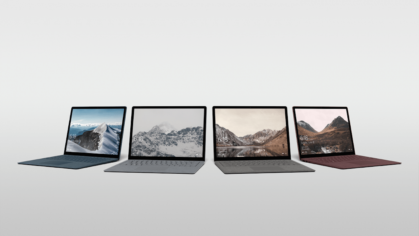 Surface Laptop Colors
