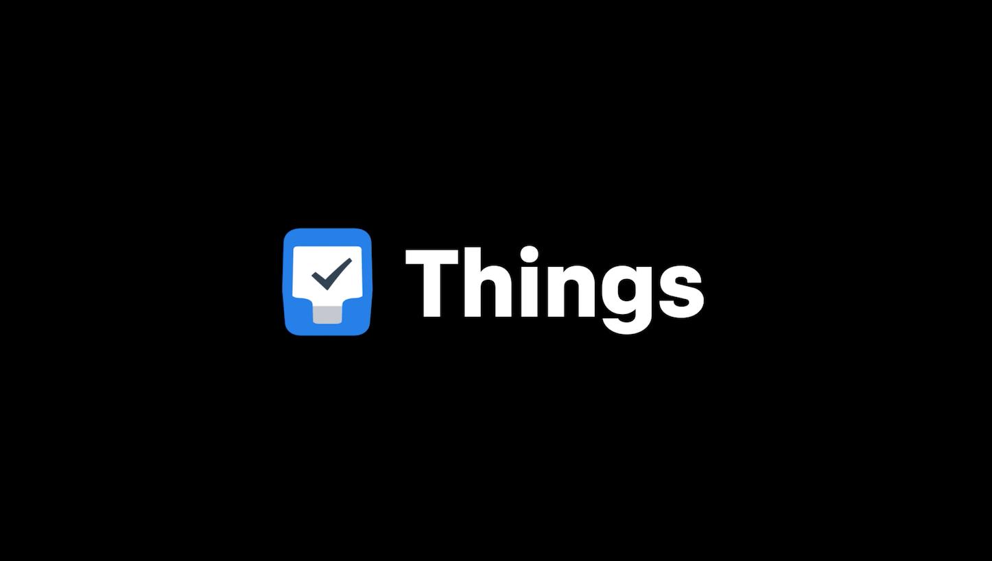 Things 3 App