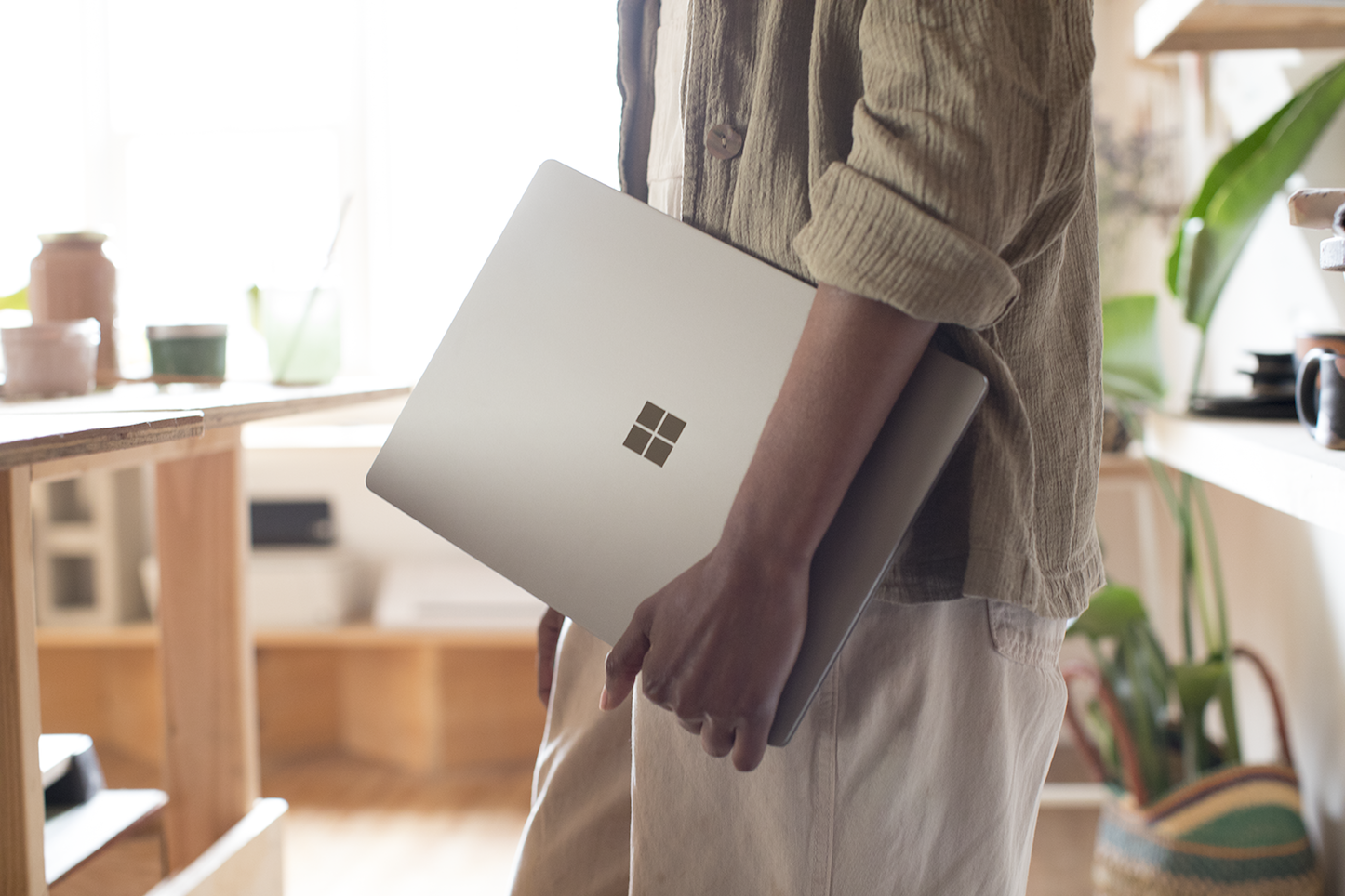 Windows Logo Surface Laptop