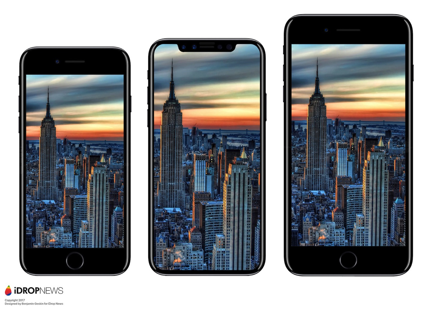IPhone 8 Size Comparison iDrop News 8