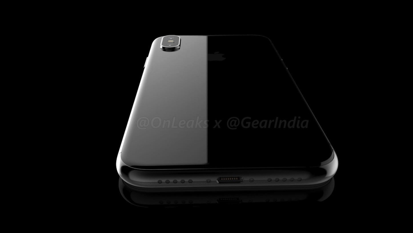 IPhone 8 leaked renders