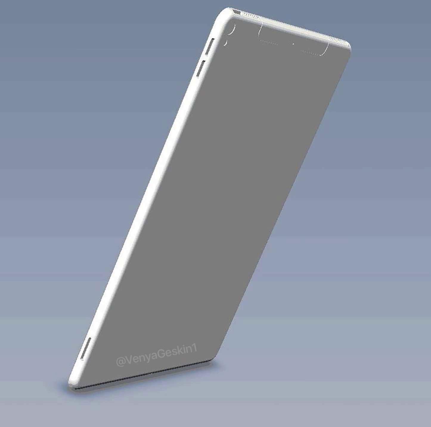 10.5インチ型iPad Proのモックアップ