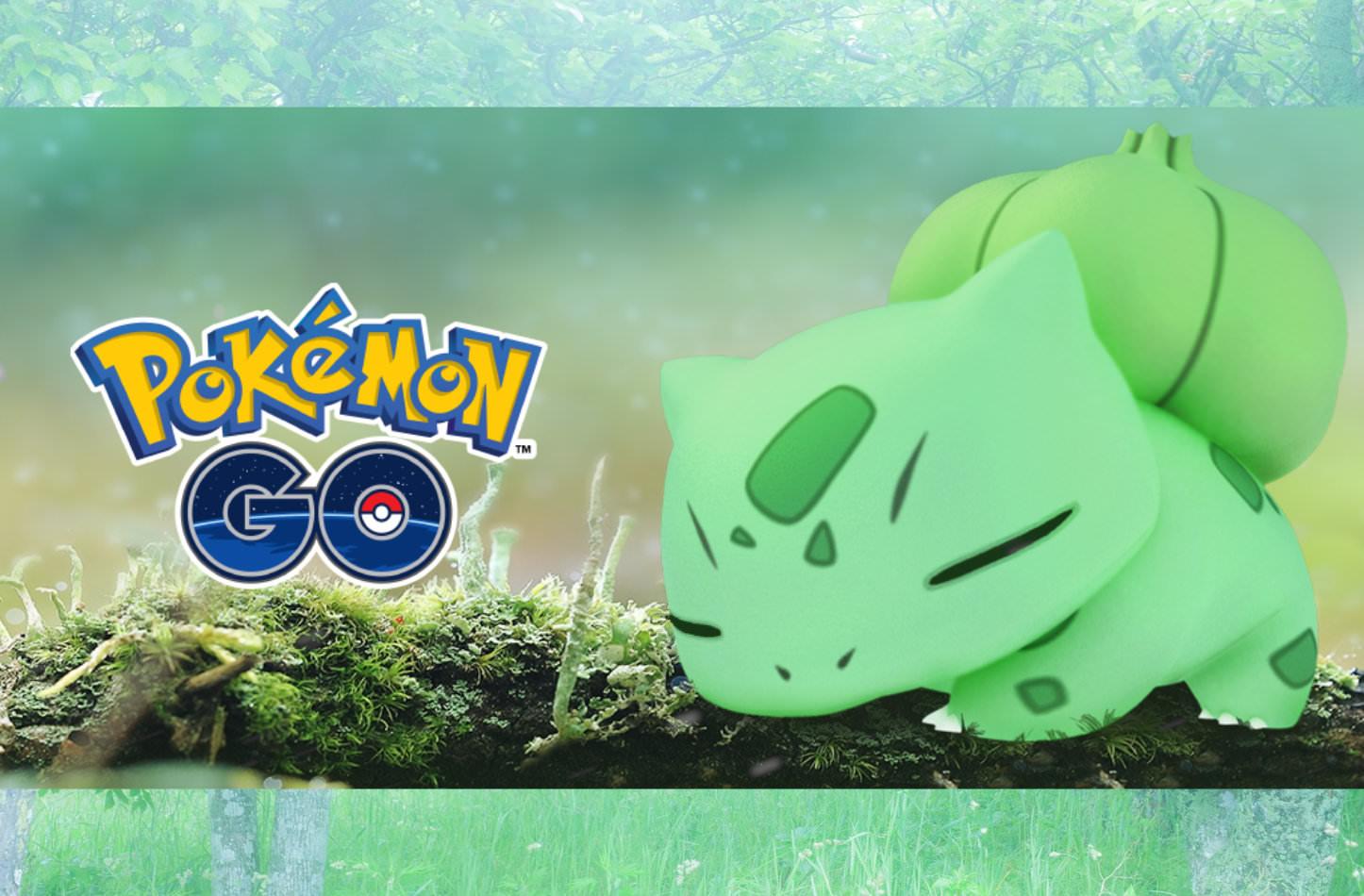 Pokemon go grass pokemon