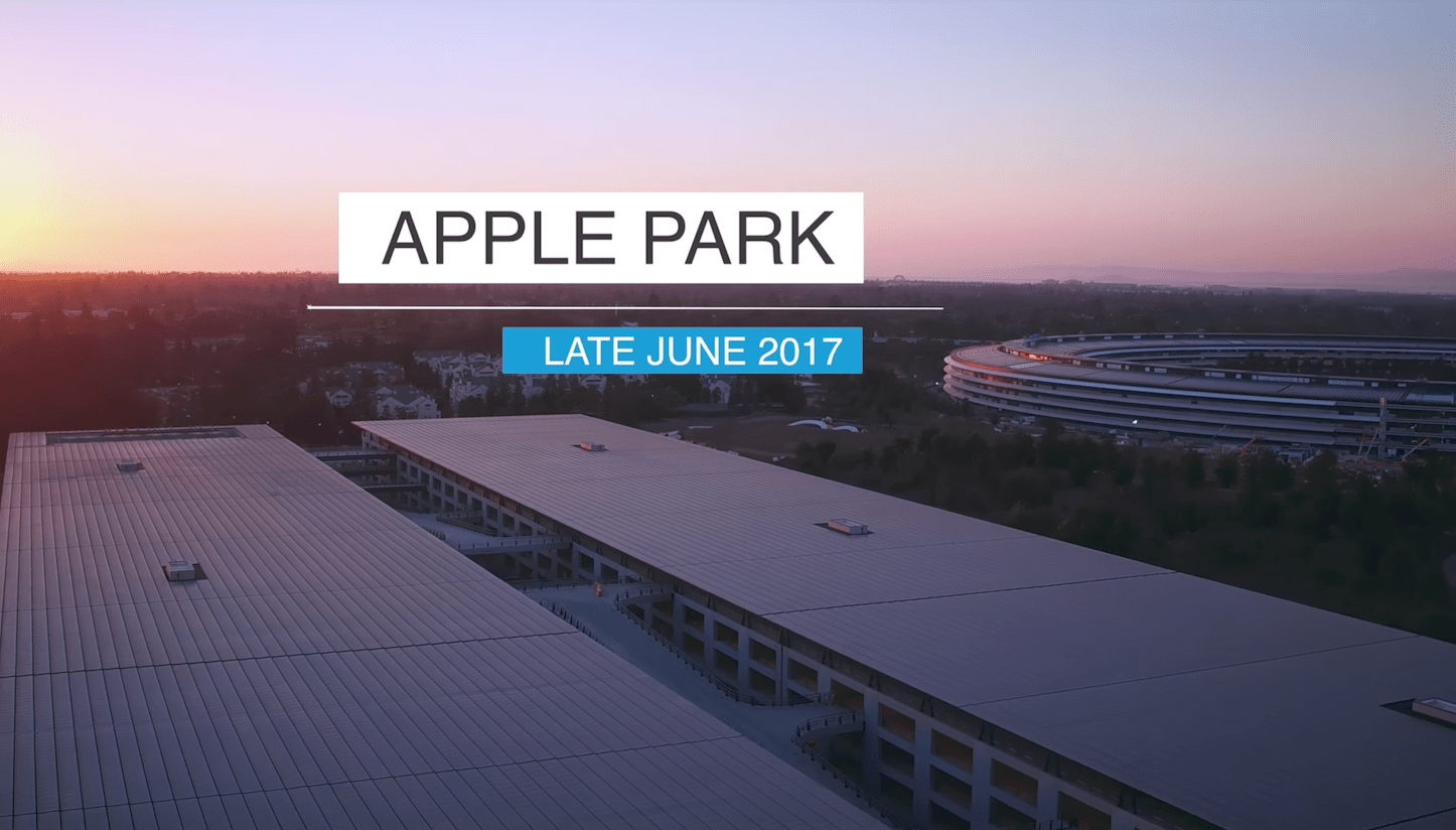 Apple Park Late June 2017