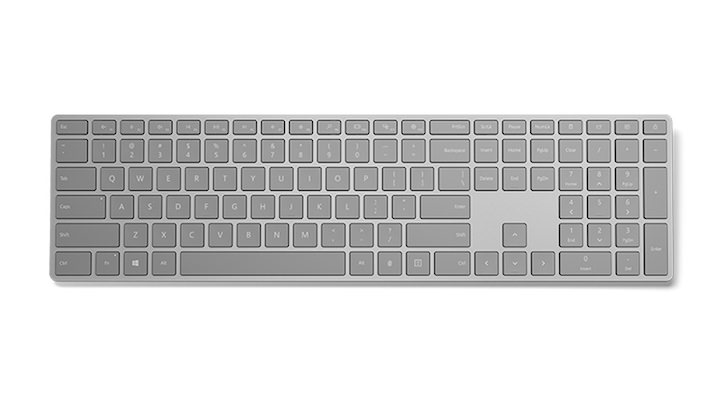 Microsoft Modern Keyboard with Fingerperint Sensor