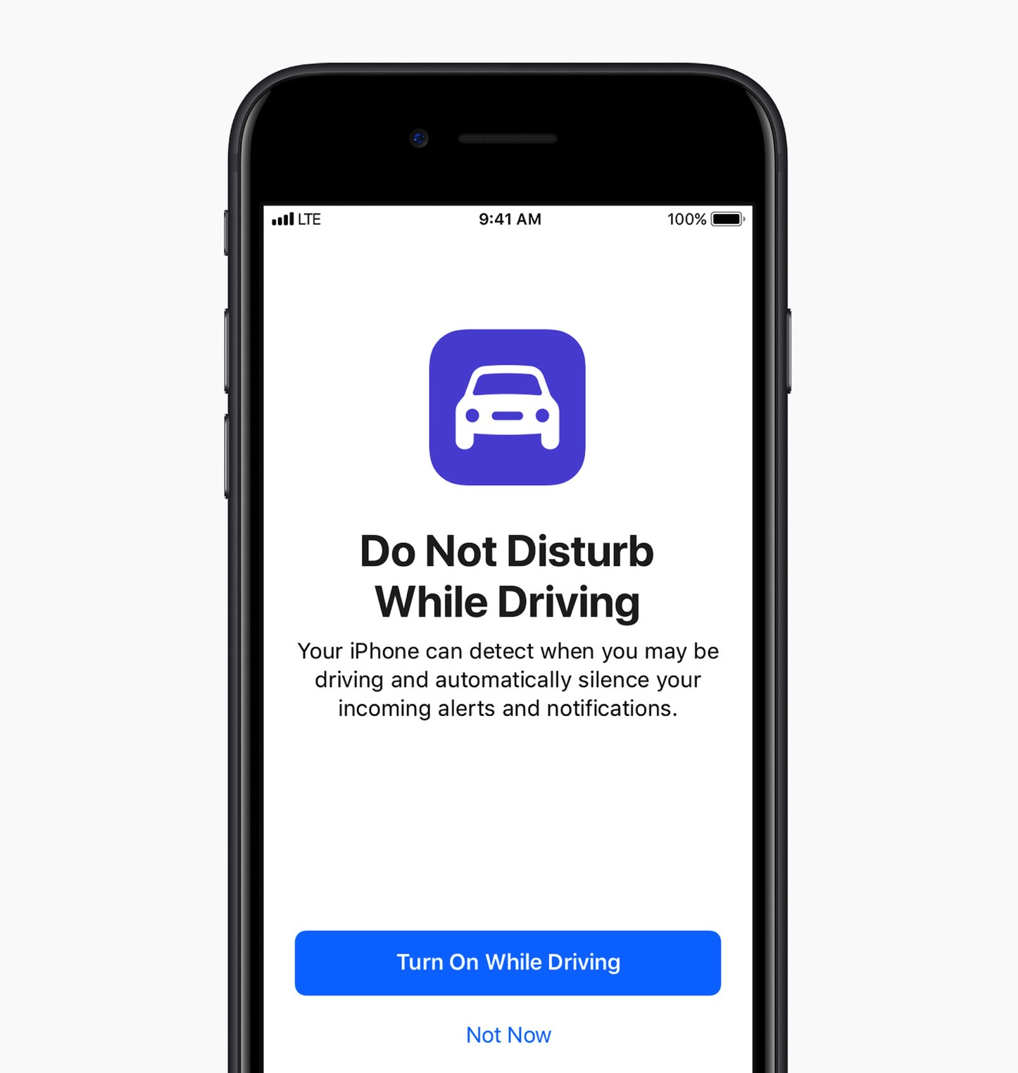 Ios 11 iphone do not disturb driving 1