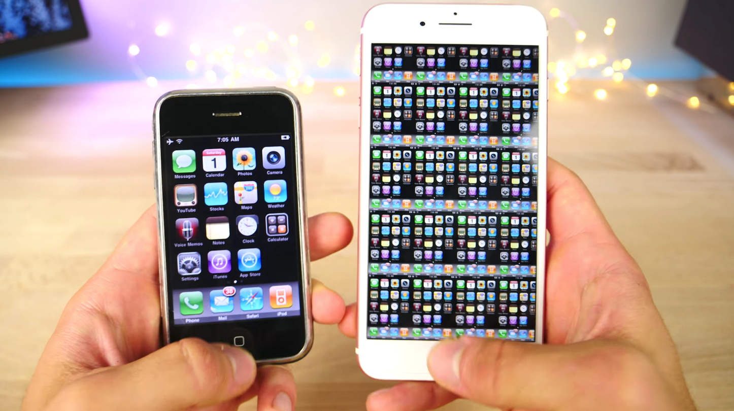 Iphone over the Years