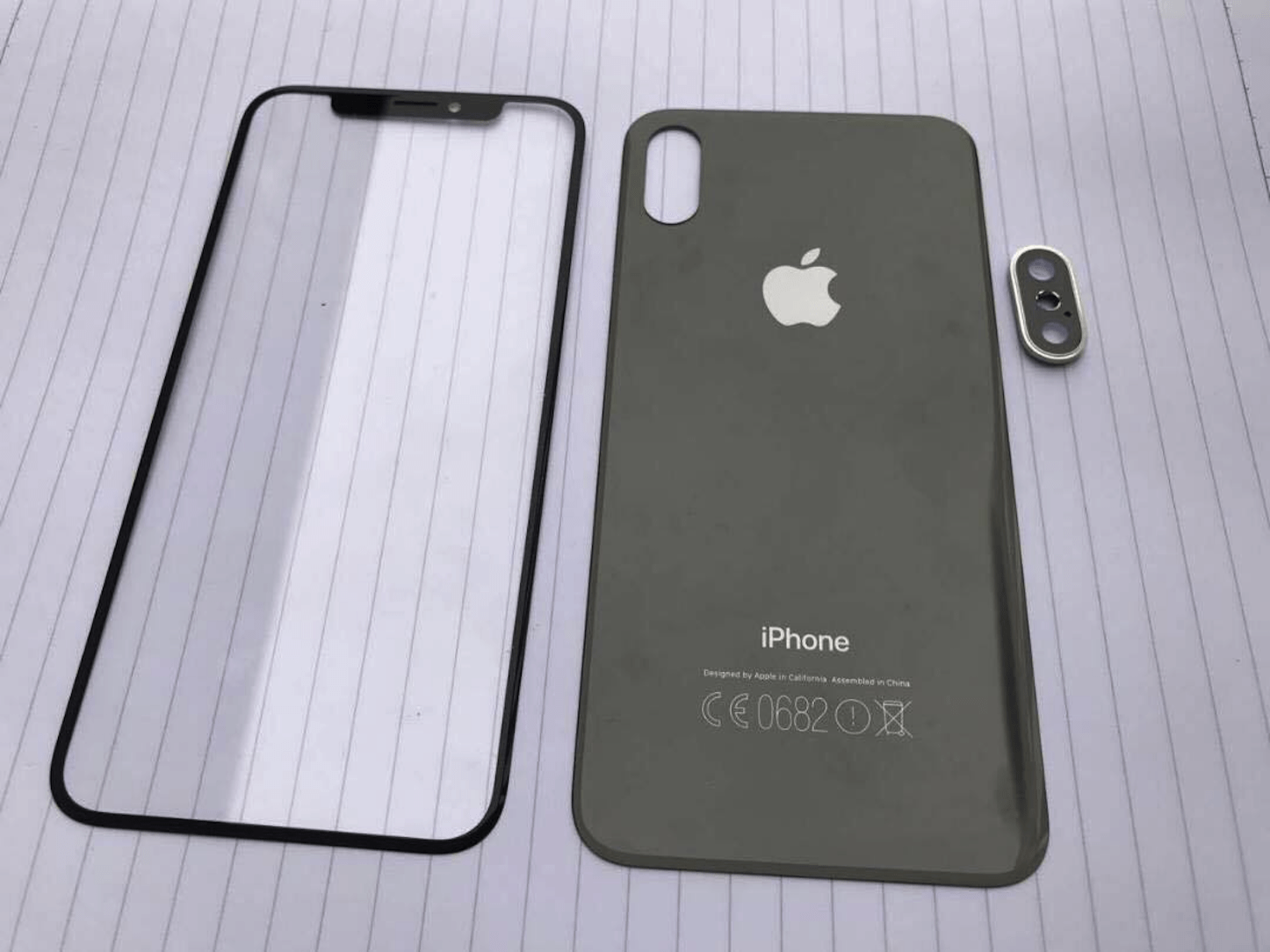 Iphone8 front panel and back panel 1