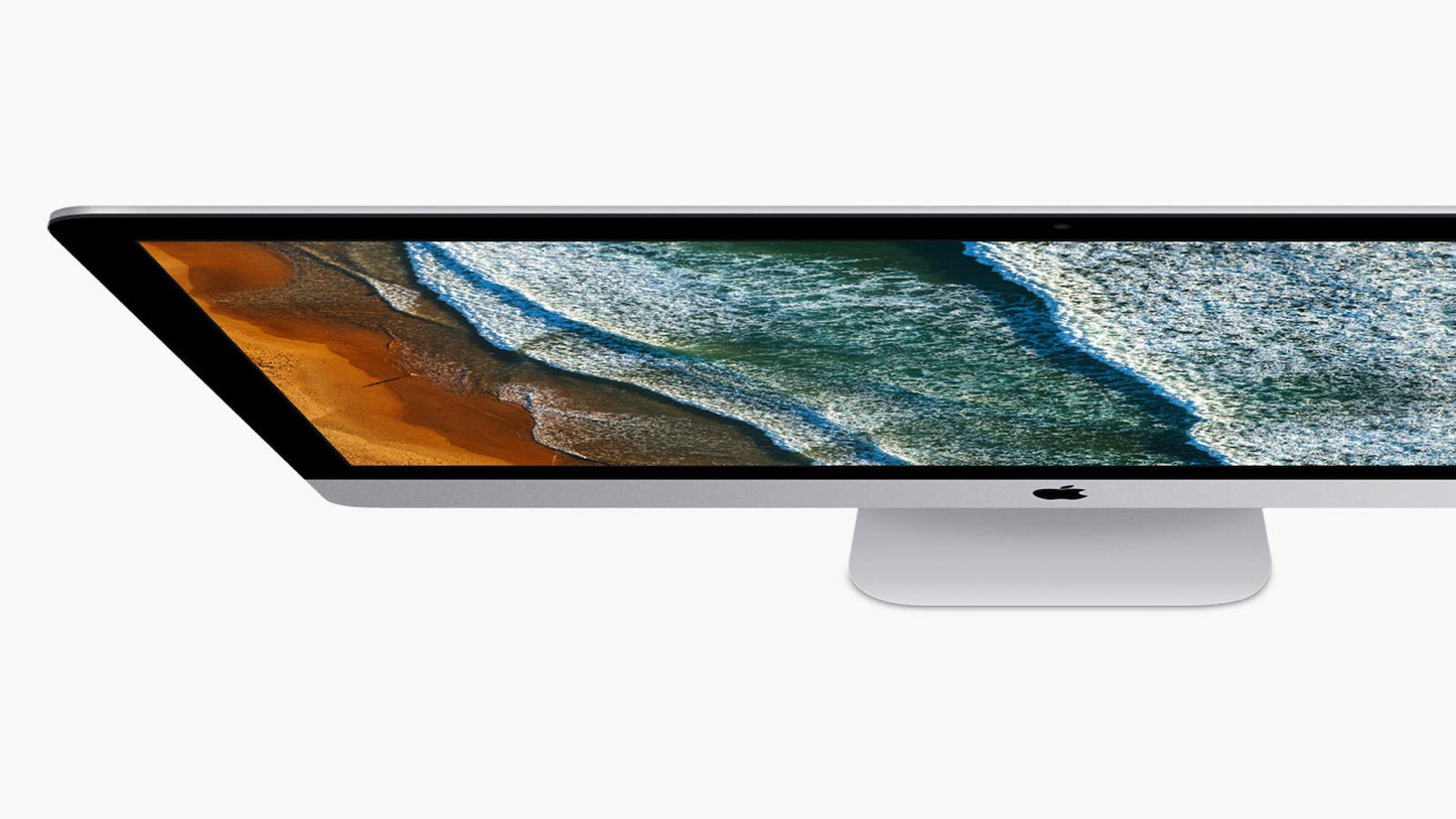 New 2017 imac top down