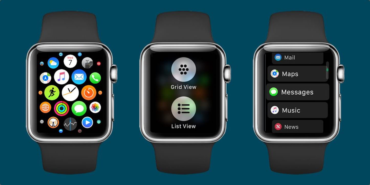 Watch os 4 app screen