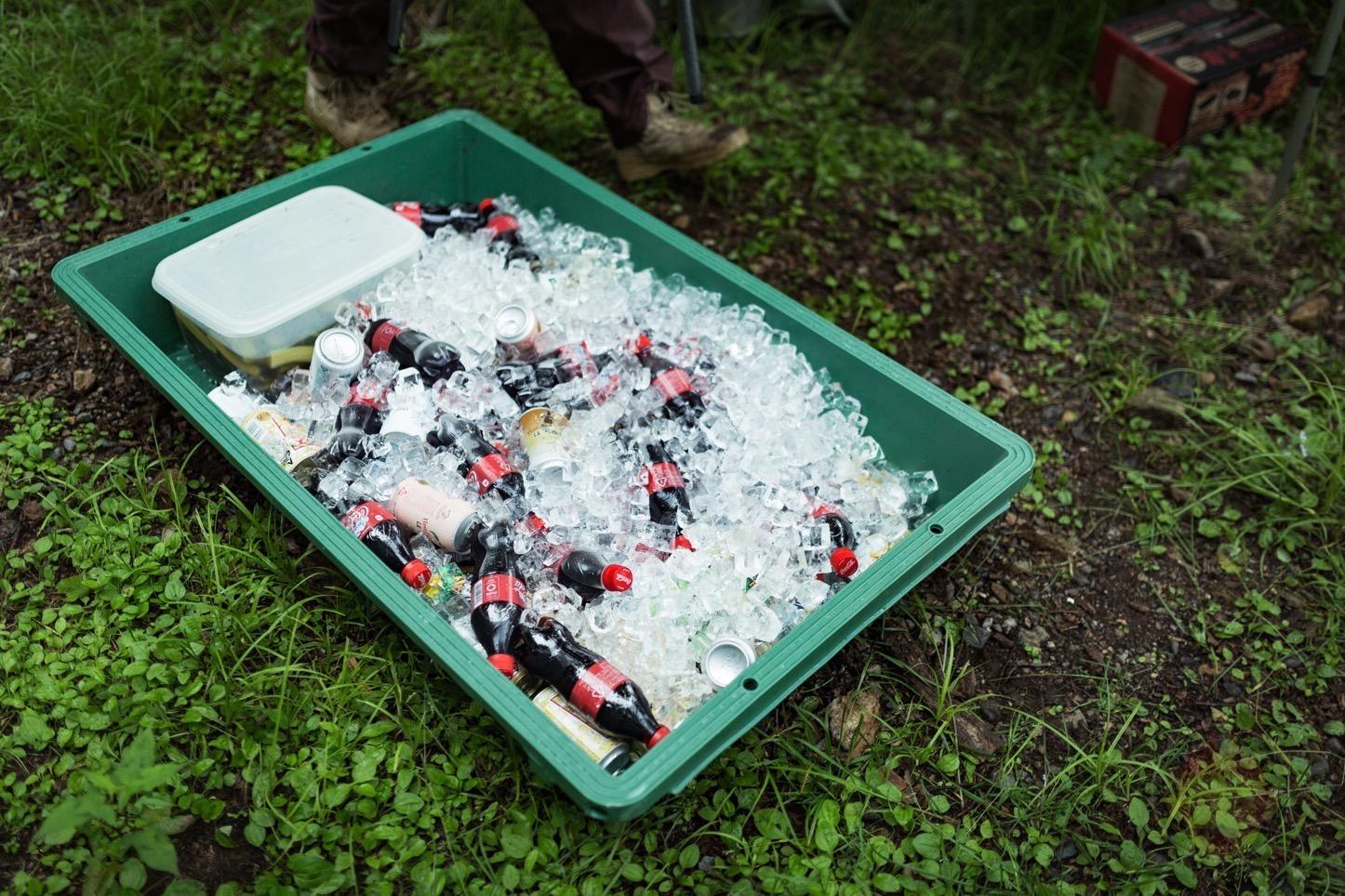 乗鞍新登山道整備2017:飲み物