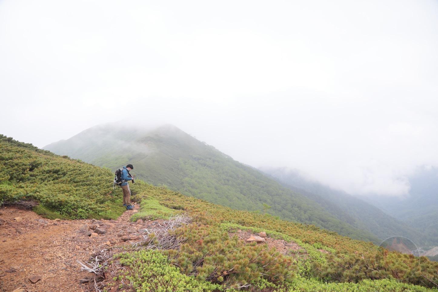乗鞍新登山道整備2017:山々