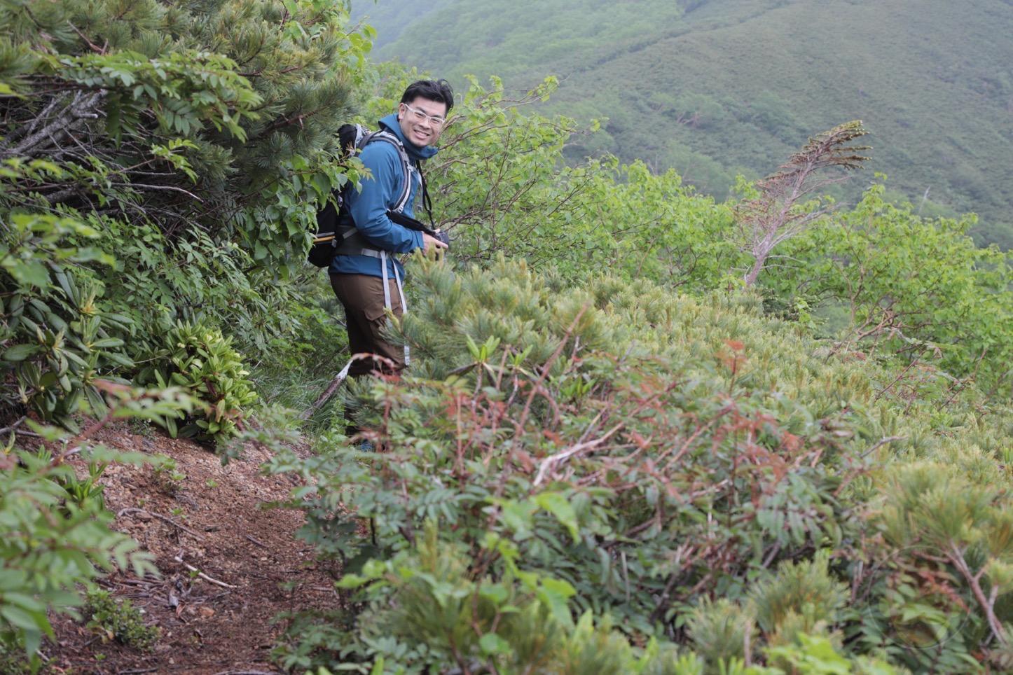 乗鞍新登山道整備2017:危ない道