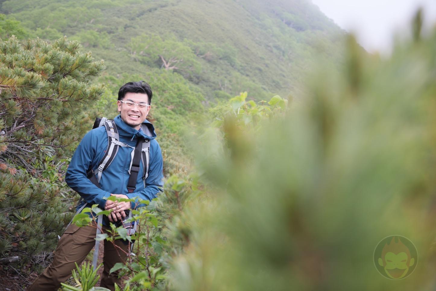 乗鞍新登山道整備2017:笑顔の僕
