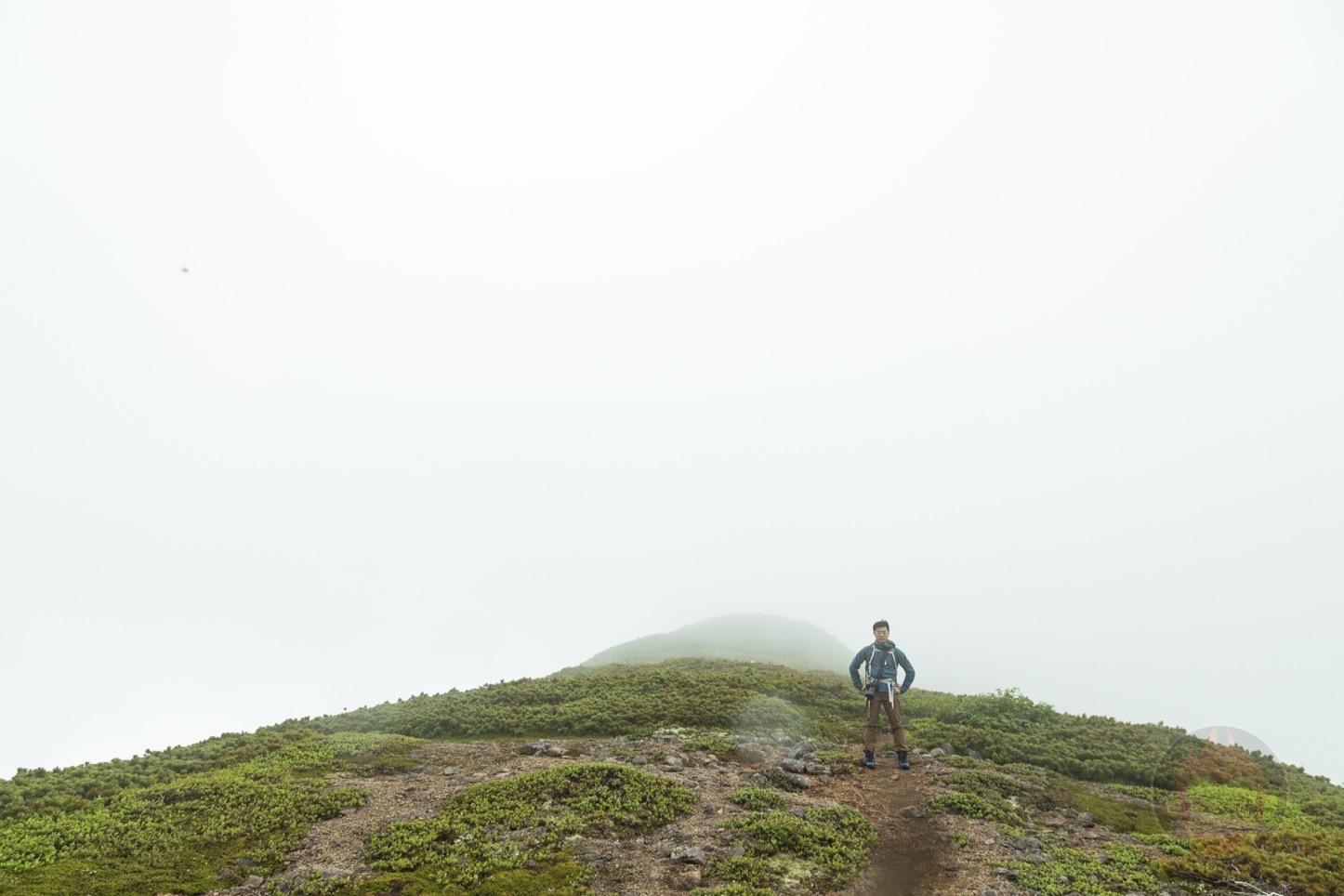乗鞍新登山道整備2017:頂上とg.O.R.i