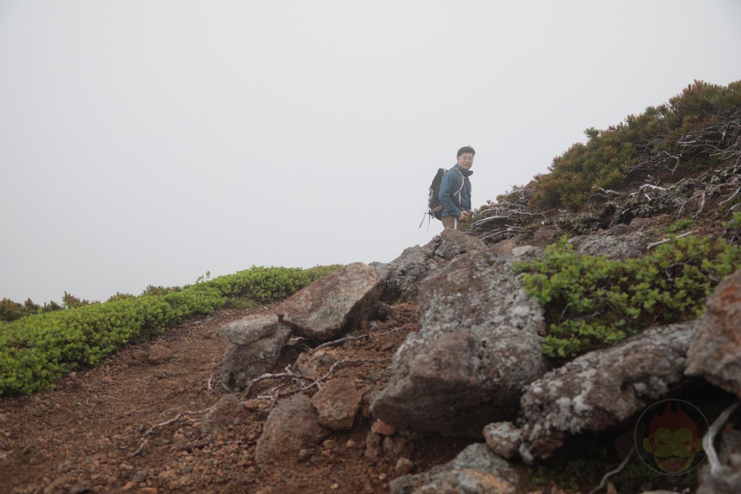 乗鞍新登山道整備2017:近くにいるg.O.R.i