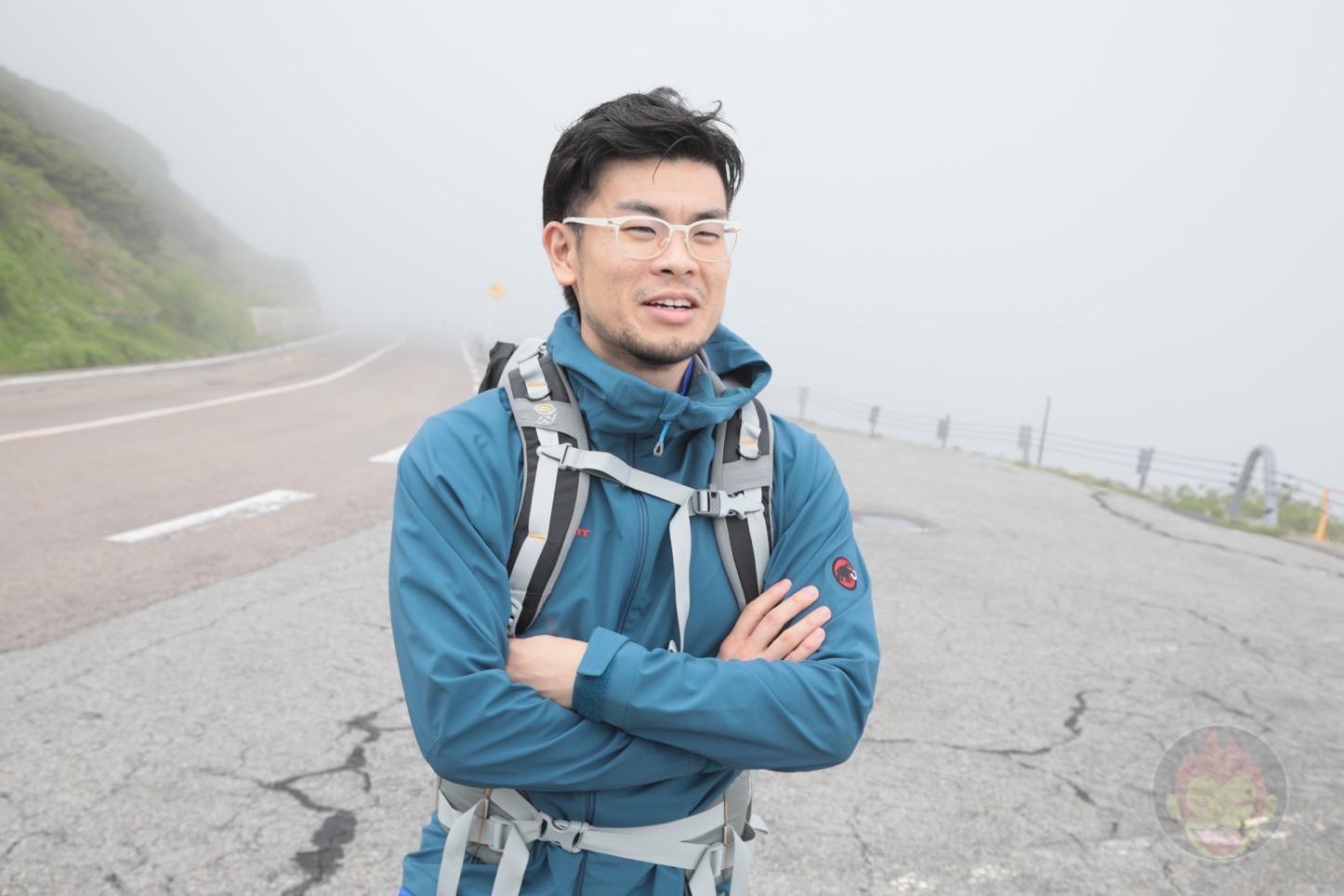 乗鞍新登山道整備2017:これからバス停に向けて歩く