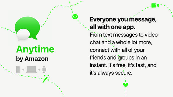 Amazon anytime chat app