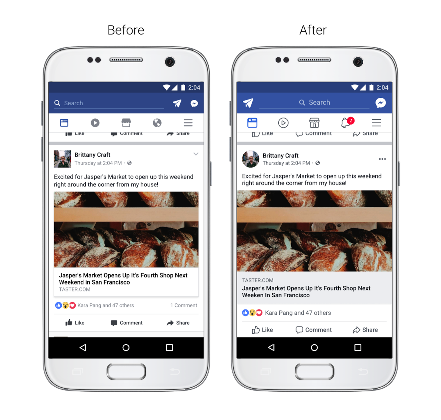 Facebook News Feed Update 2