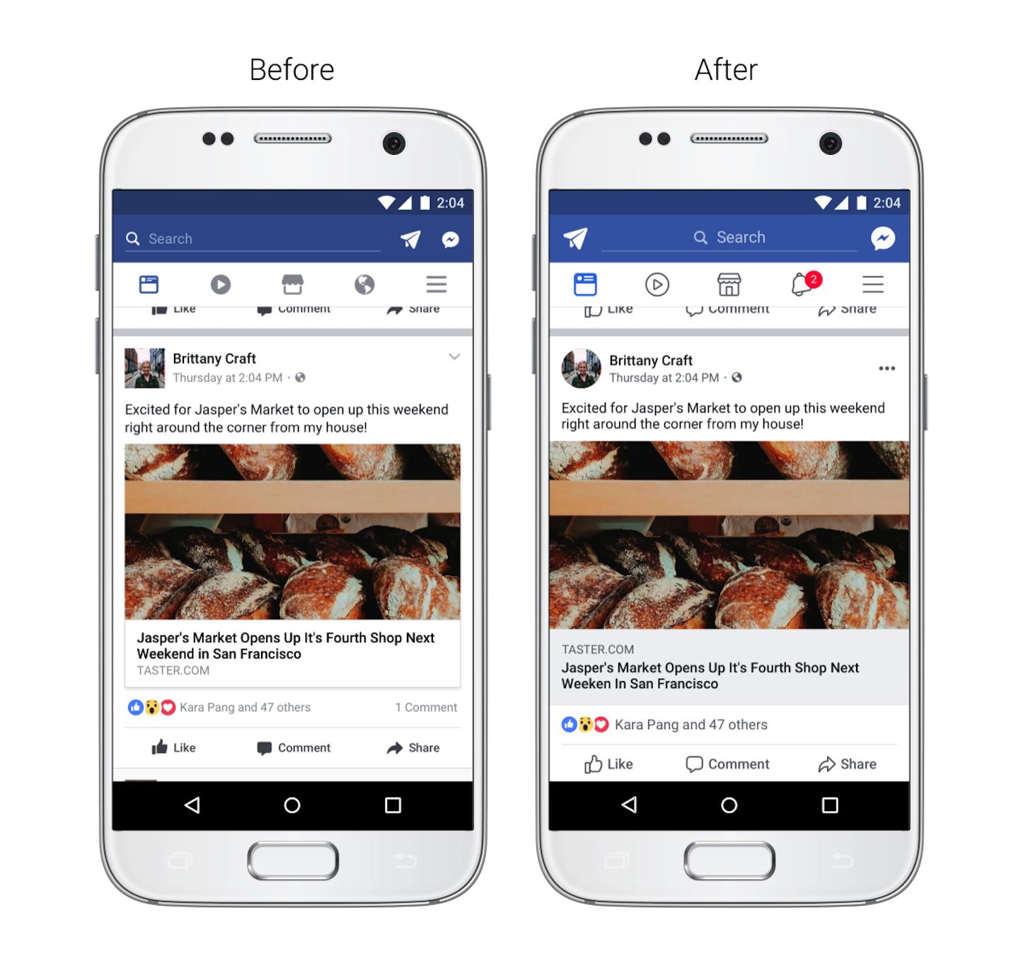 Facebook News Feed Update 2