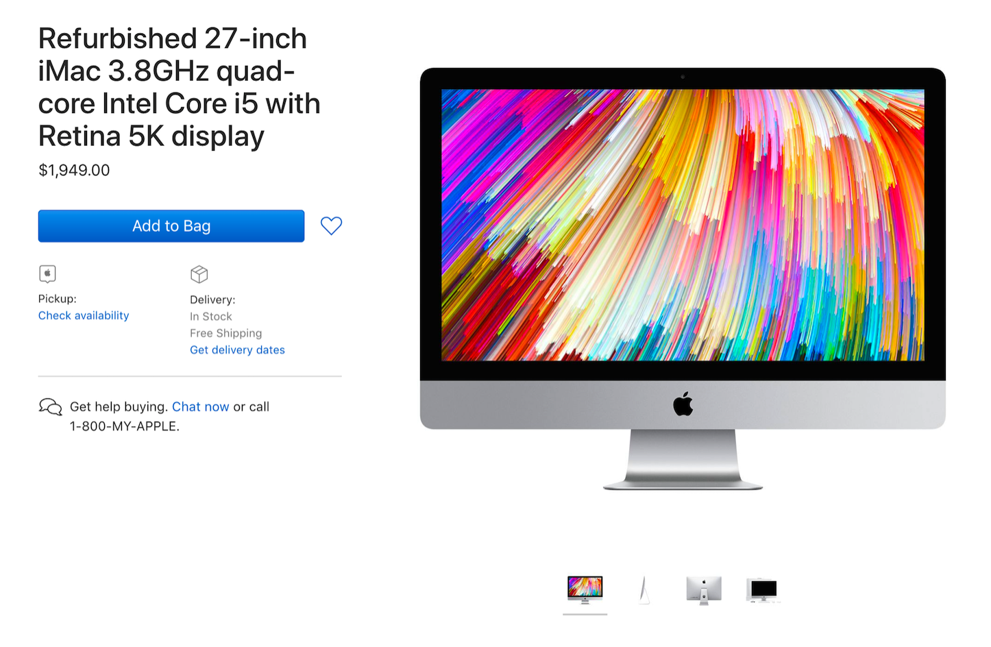 Refurbished iMac 5K