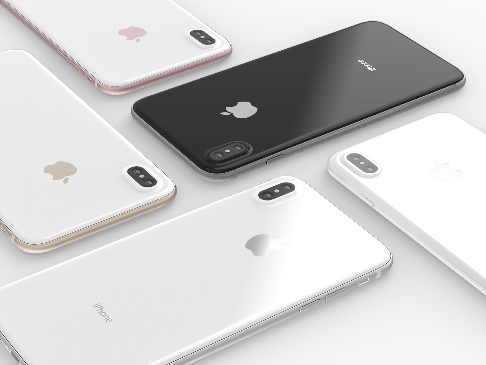 Iphone 8 hero images concept