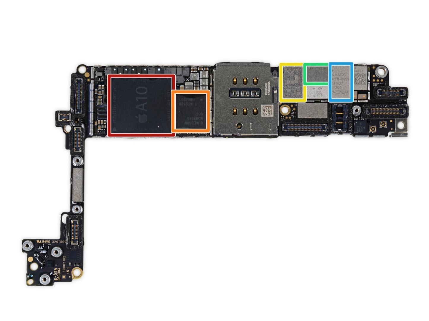 Iphone7 logicboard