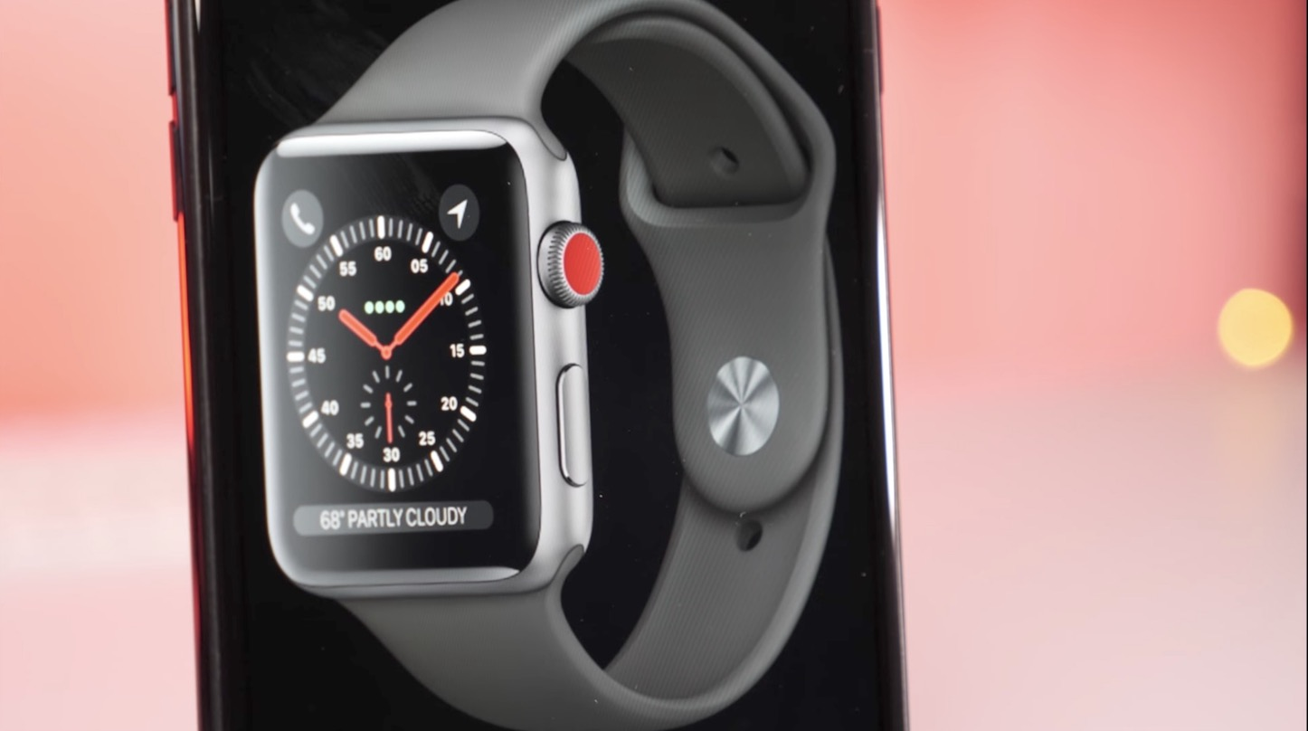 LTE Enabled Apple Watch