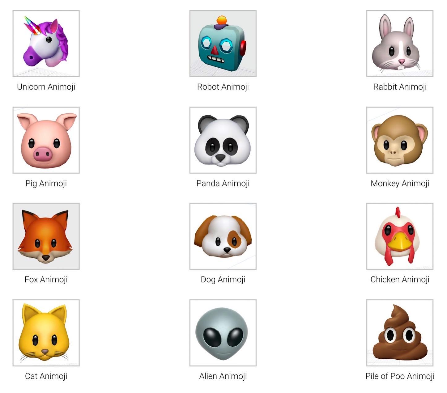 New Animoji iOS11