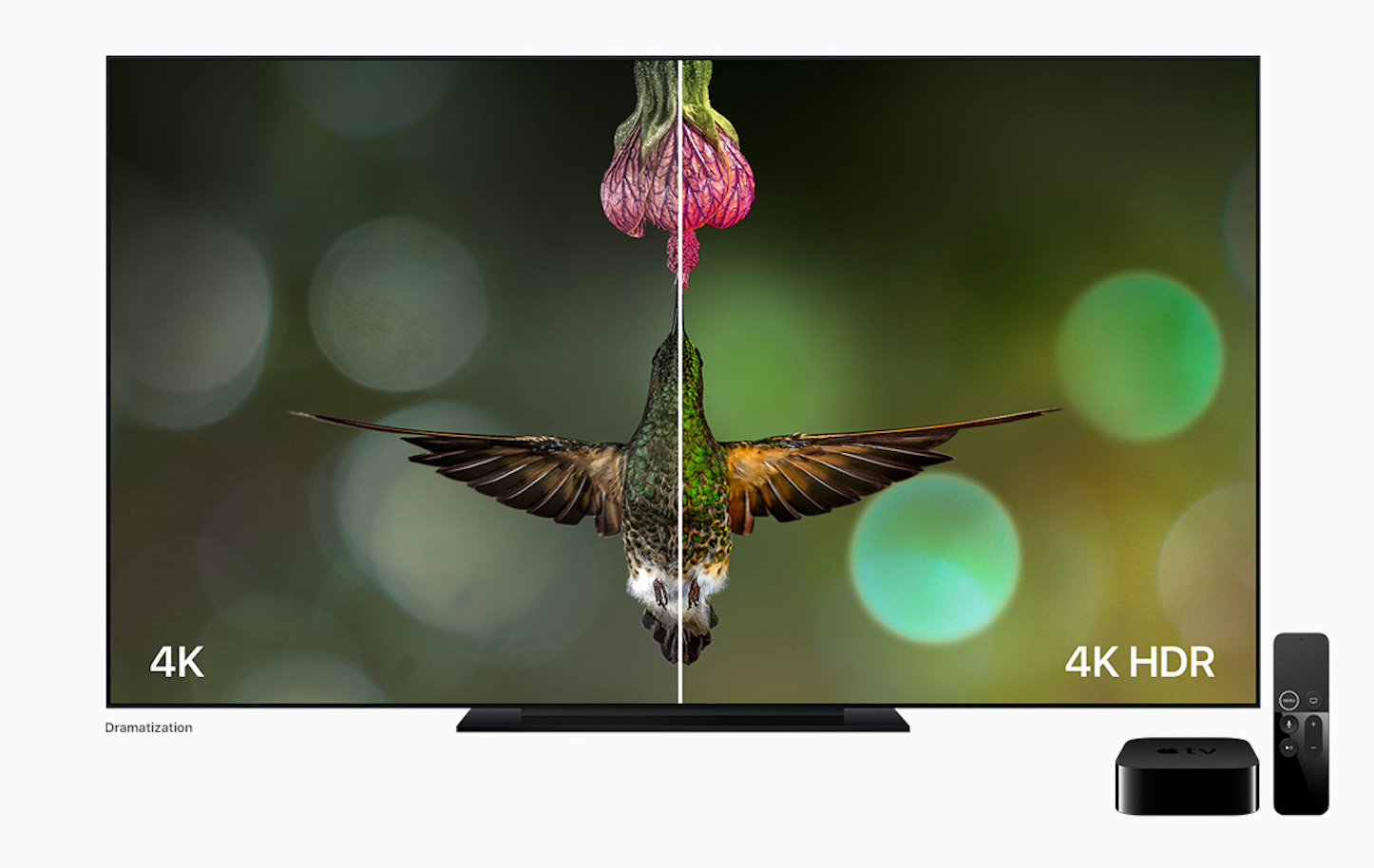 Appletv hummingbird 4K HDR comparison