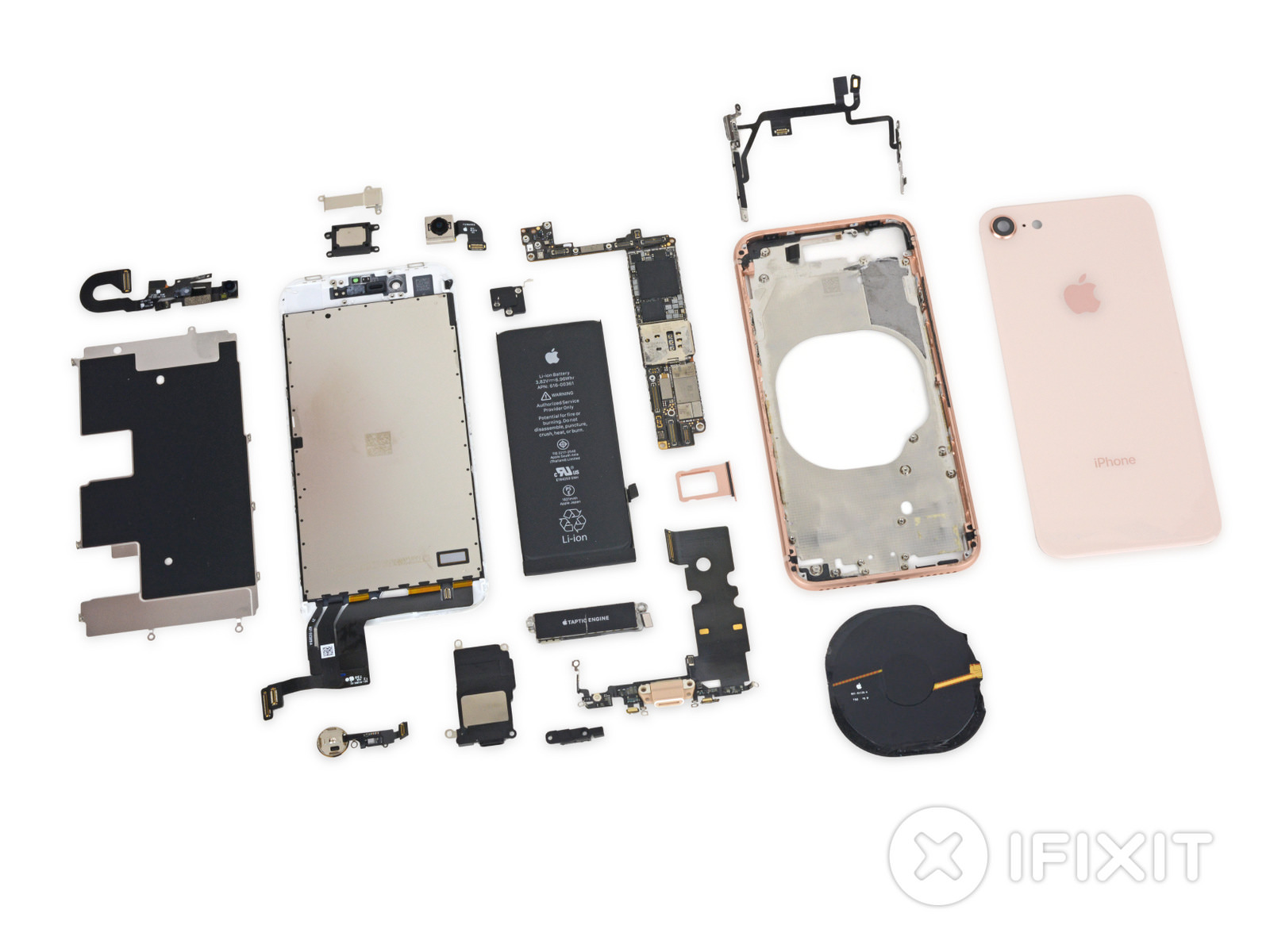 IFixit iPhone8 Report 1