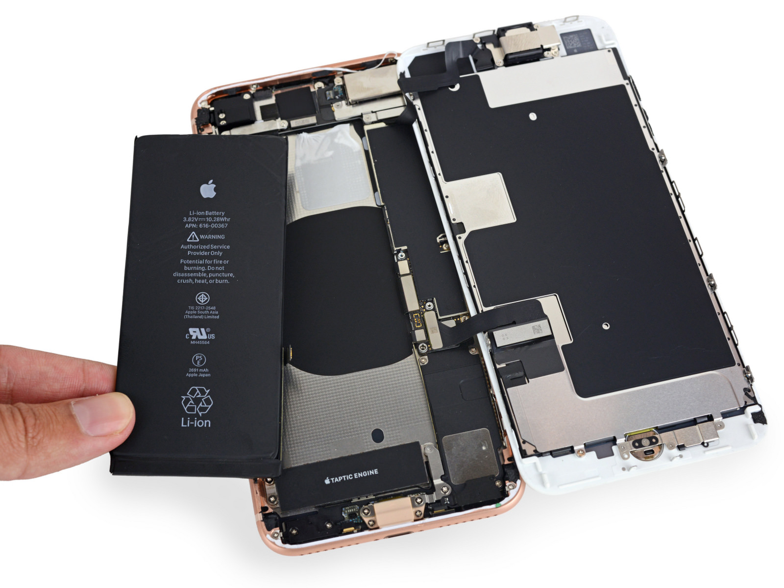 IFixit iPhone8Plus Battery