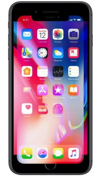 Iphone x display overlay 2