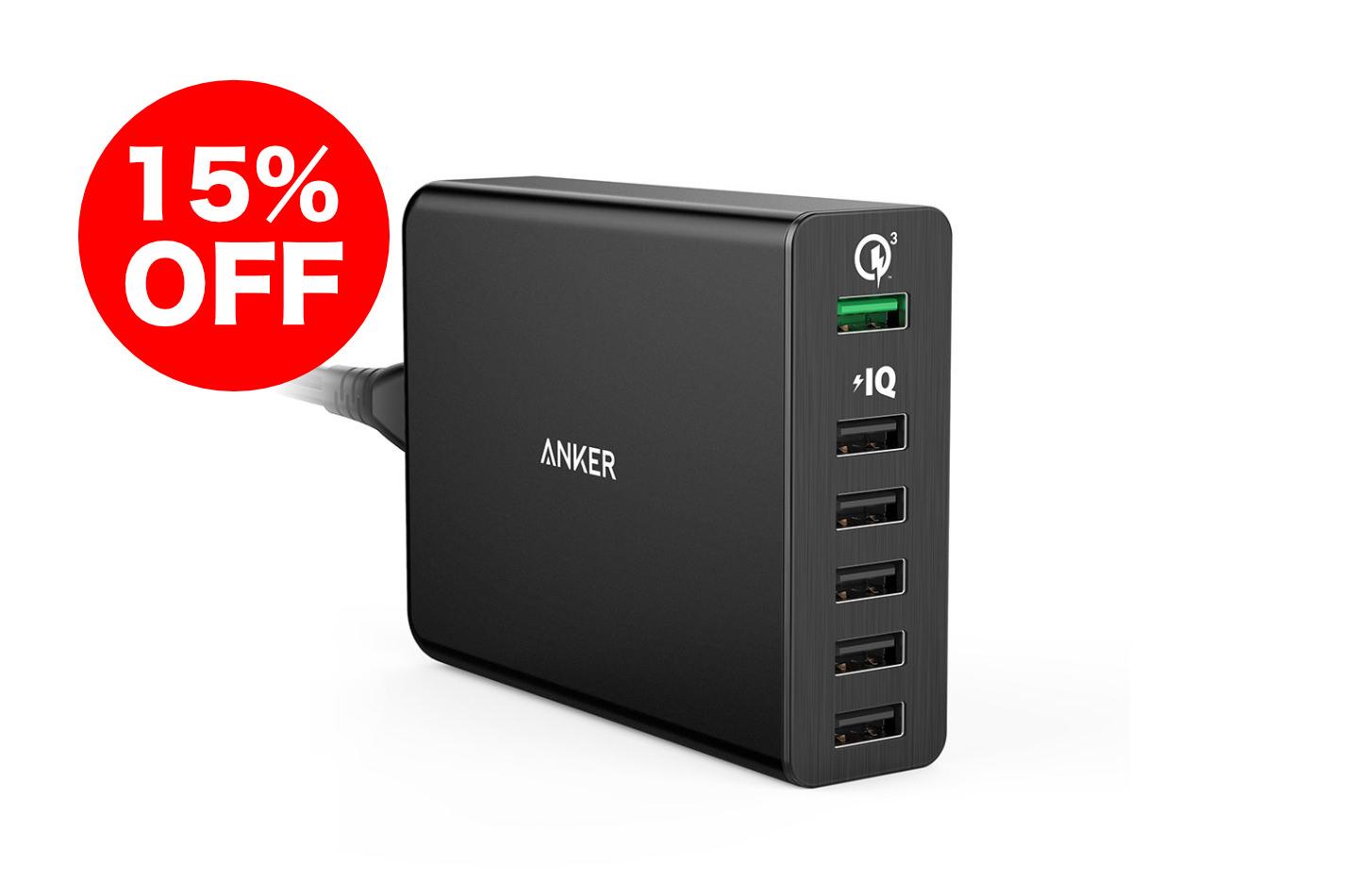 Anker PowerPort6 Sale