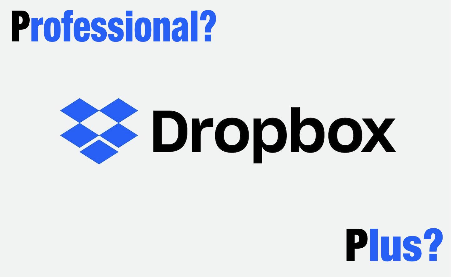 Dropboxに「Professional」プラン、登場!「Pro」との違いは