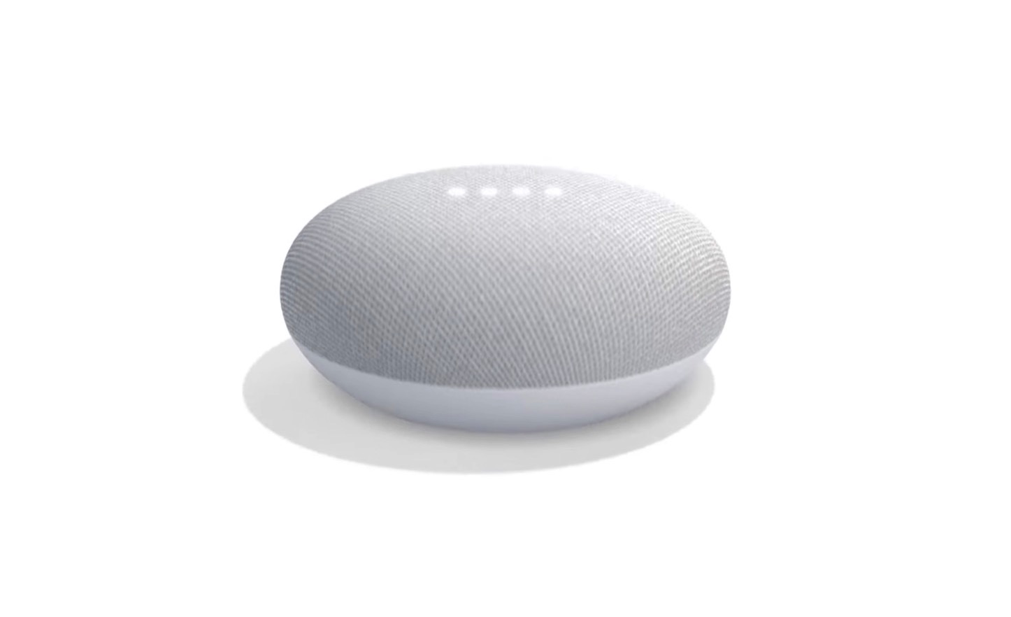 Google Home Mini Top