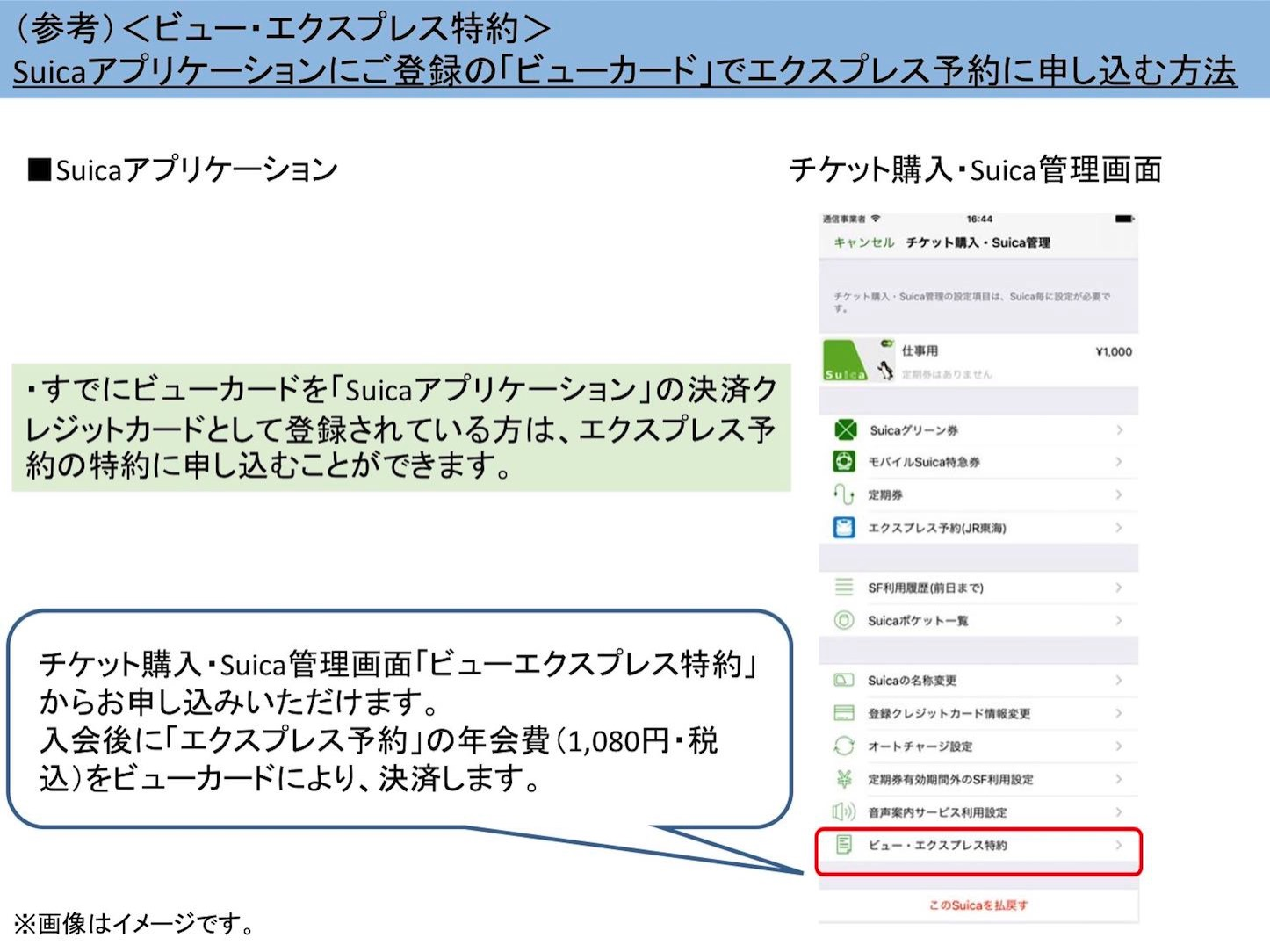 How To Use Suica App for Express IC 1