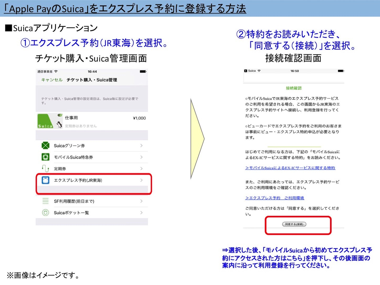 How To Use Suica App for Express IC 2