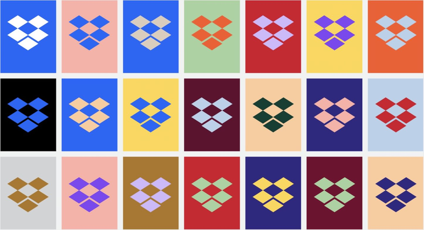 New Dropbox Brand Colors