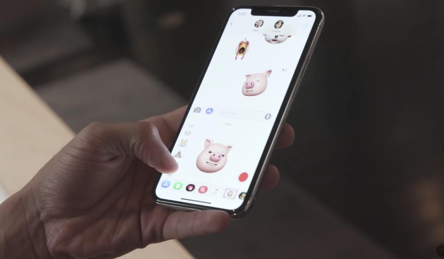 Youtubers Hands On iPhoneX
