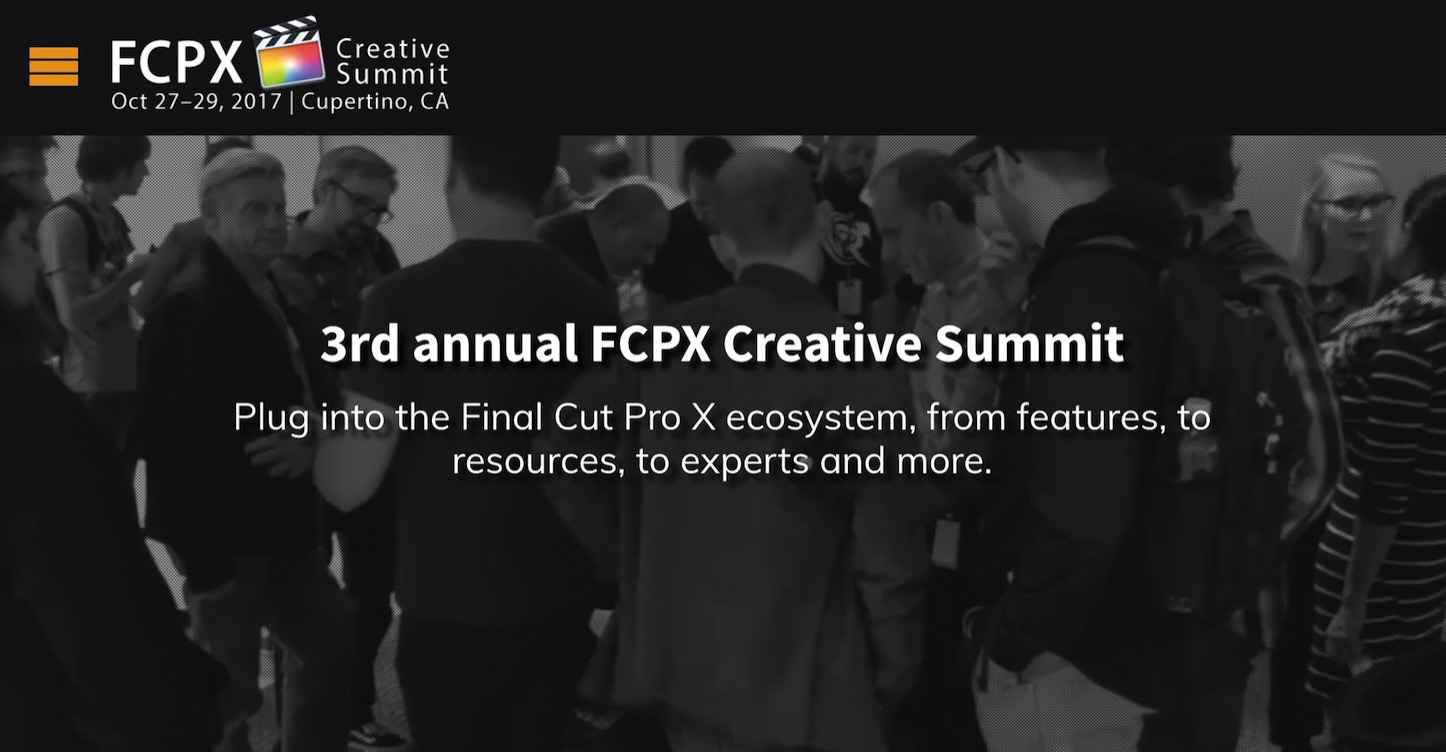 Fcpx creative summit
