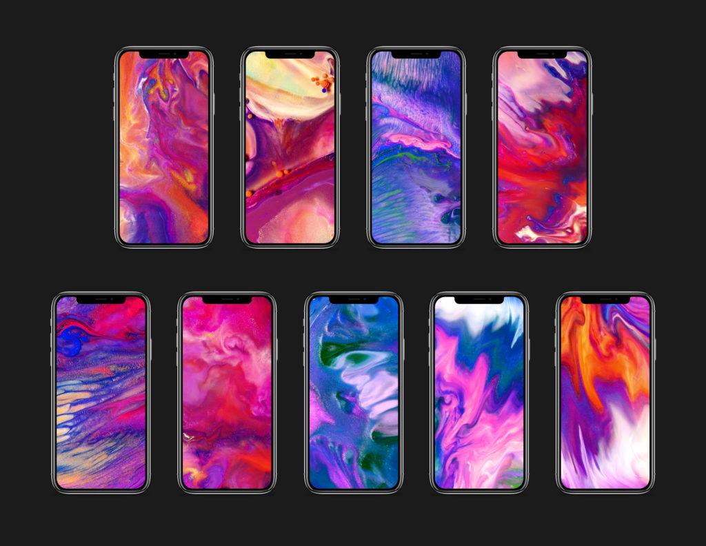 Iphone X のプロモ動画風の壁紙が公開 ゴリミー
