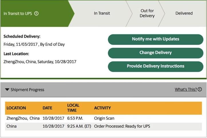 Iphonex order ups