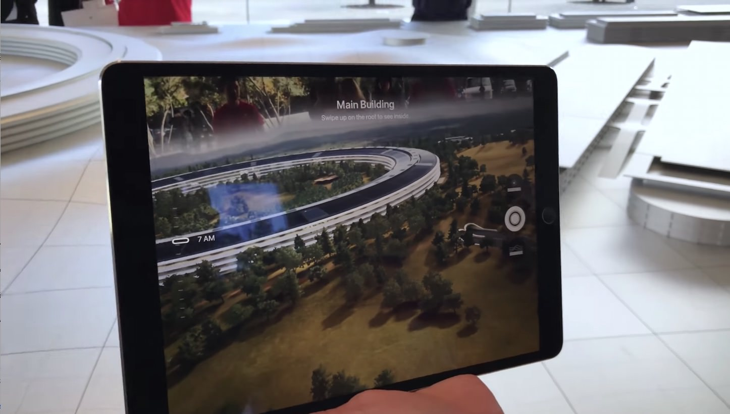 Apple Park AR Demo